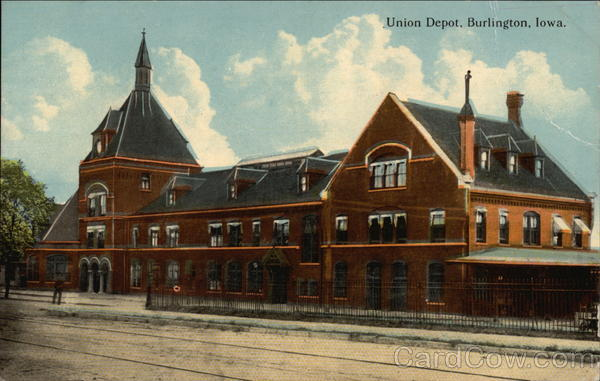 Union Depot Burlington Iowa
