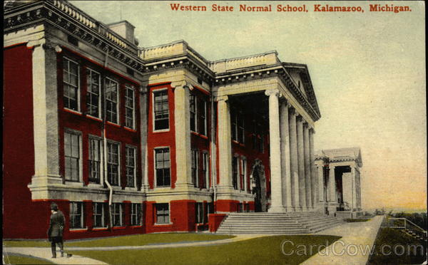 Western State Normal School Kalamazoo Michigan