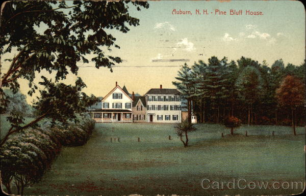 Pine Bluff House Auburn New Hampshire