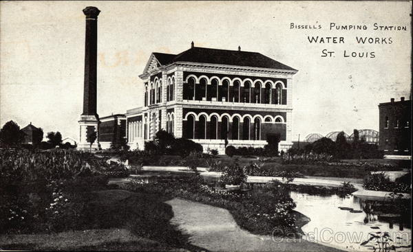 Bissell's Pumping Station, Water Works St. Louis Missouri