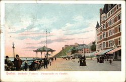 Dufferin Terrace, Promenade at Citadel Postcard