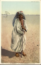 Old Mojave Woman on the Desert