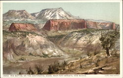 Red Buttes, on the Continental Divide