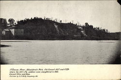 Potomac River, Blackford's Ford, Old Cement Mill and Cliffs