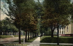 Kansas Avenue Postcard