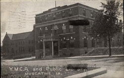 Y.M.C.A. and Public Library