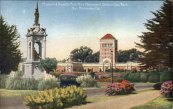 Museum & Francis Scott Key Monument - Golden Gate Park