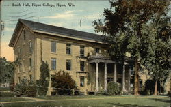 Smith Hall, Ripon College Postcard