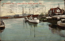 The Simmons Mfg. Co. Harbor and Club House