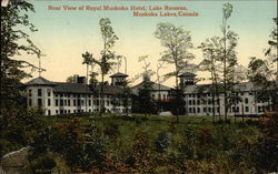 Rear View of Royal Muskoka Hotel, Lake Rosseau