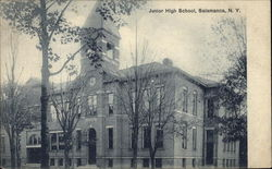 Junior High School Postcard