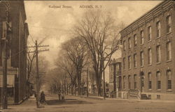 Railroad Street Postcard