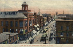 East Side of Main Street, South From Ward St. in 1905
