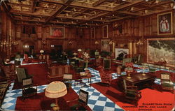 Congress Hotel and Annex - Elizabethan Room Postcard