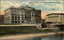 Public Library and Coliseum