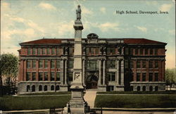 High School, Davenport, Iowa