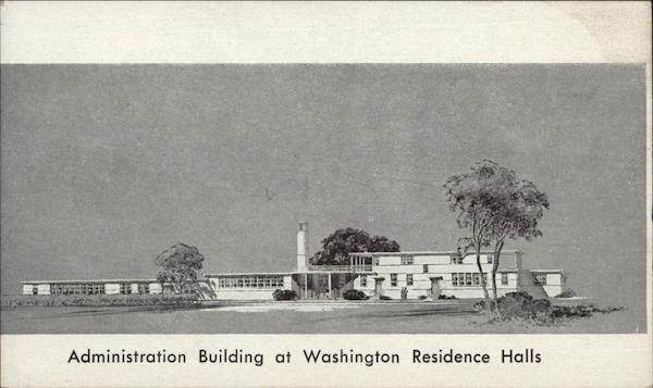 Administration Building at Washington Residence Halls Suitland Maryland