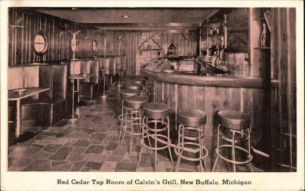Red Cedar Tap Room of Calvin's Grill, New Buffalo, Michigan