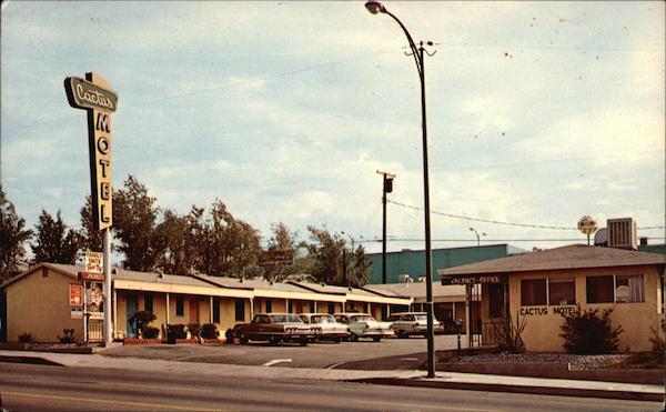 Cactus Motel Barstow Ca