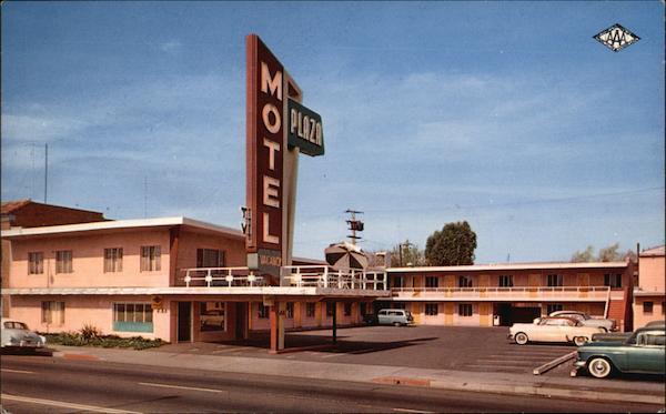 Plaza Motel Fresno Ca