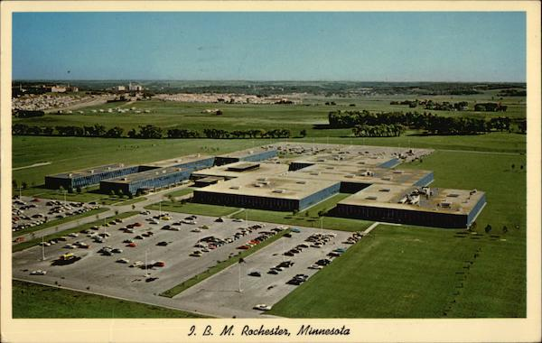 View of I.B.M. Plant Rochester Minnesota