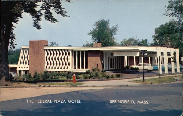 The Federal Plaza Motel Springfield Massachusetts