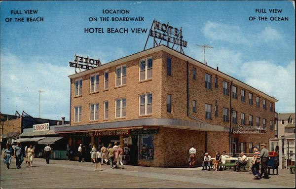 Hotel Beach View Wildwood-by-the-Sea New Jersey