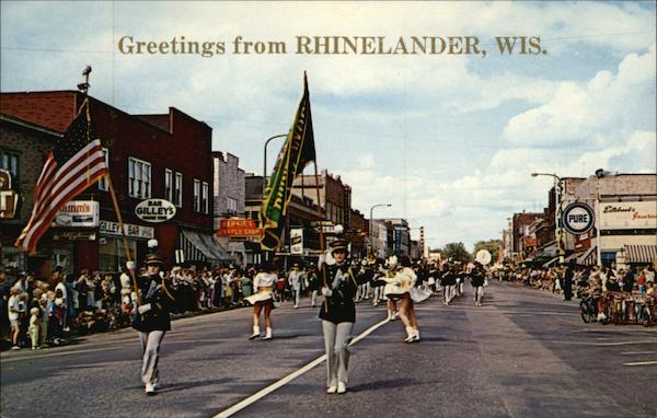 Labor Day Parade Rhinelander Wisconsin