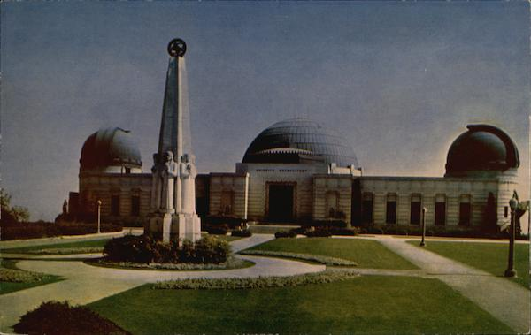 Griffith Observatory and Planetarium Los Angeles California