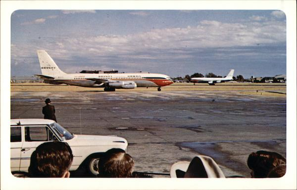 Presidential and Escort Planes - Love Field Dallas Texas