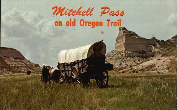 Mitchell Pass an old Oregon Trail Scottsbluff, NE