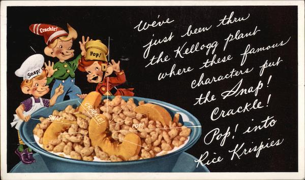 Snap! Crackle! Pop! Advertising