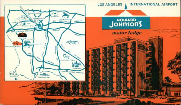Howard Johnson's Motor Lodge Los Angeles California