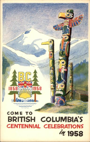 Come to British Columbia's Centennial Celebrations in 1958 Canada