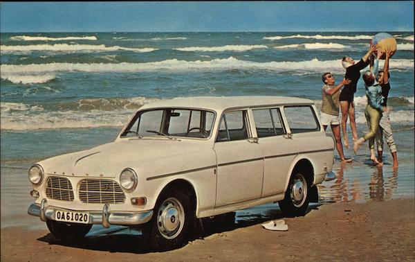 Volvo 122S Station Wagon Cars