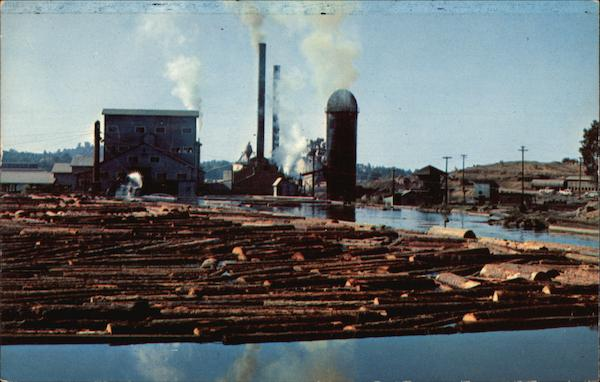 Pickering Lumber Mill and Pond Standard California