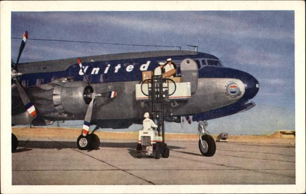 United Air Lines DC-6 Mainliner 300 Aircraft