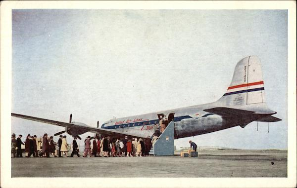 United Air Lines Age of Flight Mainliner Aircraft
