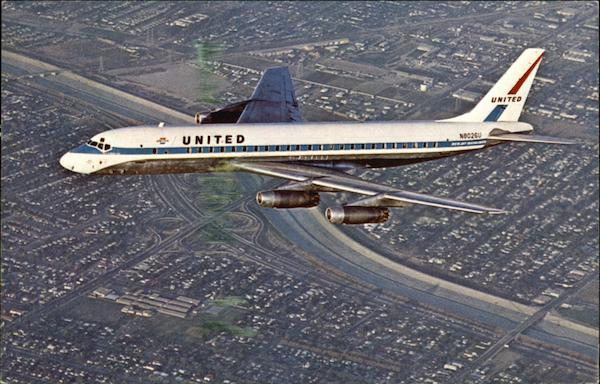United Air Lines DC-8 Aircraft