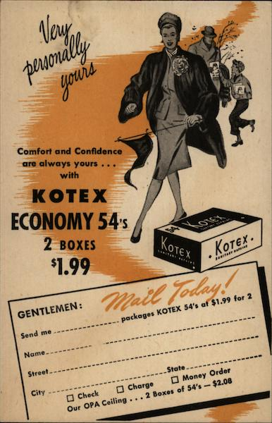 Kotex Economy 54's Advertising