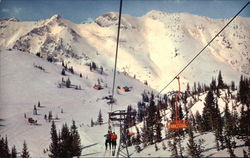 Wasatch Mountains - Germania Ski Lift