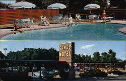 The Sands Motel and Grill Postcard