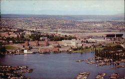 Portage Bay and University of Washington Campus