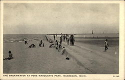 The Breakwater at Pere Marquette Park