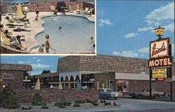 Sands Motel - Pool Area & Forecourt