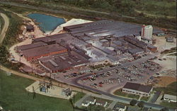 Aerial View of the Scio Pottery Company