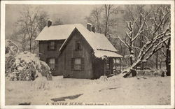 Winter Scene - Jewett Avenue