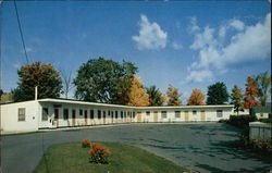 Royal Motel In The Green Mountains Postcard