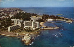 Fort Geronimo and Caribe Hilton Hotel