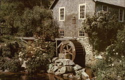 The Oldest Water Mill on the American Continent